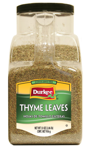 Durkee Thyme Leaves, Whole 33 oz
