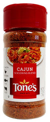 Tone's Cajun Seasoning, 2.75 oz