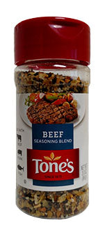 Tone's Beef Seasoning, 3 oz