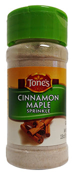 Tone's Cinnamon Maple Sprinkle, 3.39 oz.