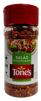 Tone's Salad Seasoning, 2.75 oz