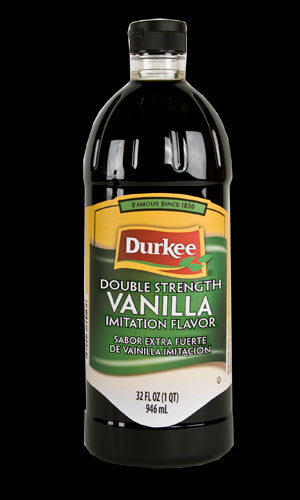 Durkee Vanilla Imitation Double Strength, 32 oz