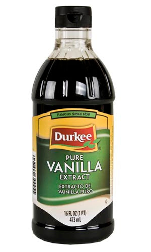 Durkee Vanilla Pure Extract, 16 oz