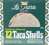 LA TIARA White Taco Shells (Box of 12)