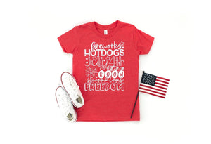 July 4th Freedom Tee | Mini Match