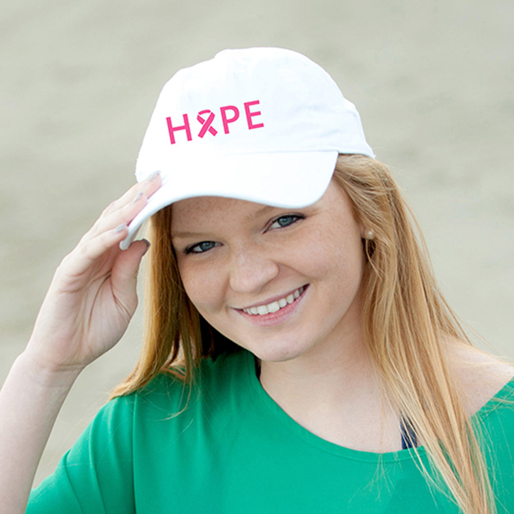 Hope White Cap