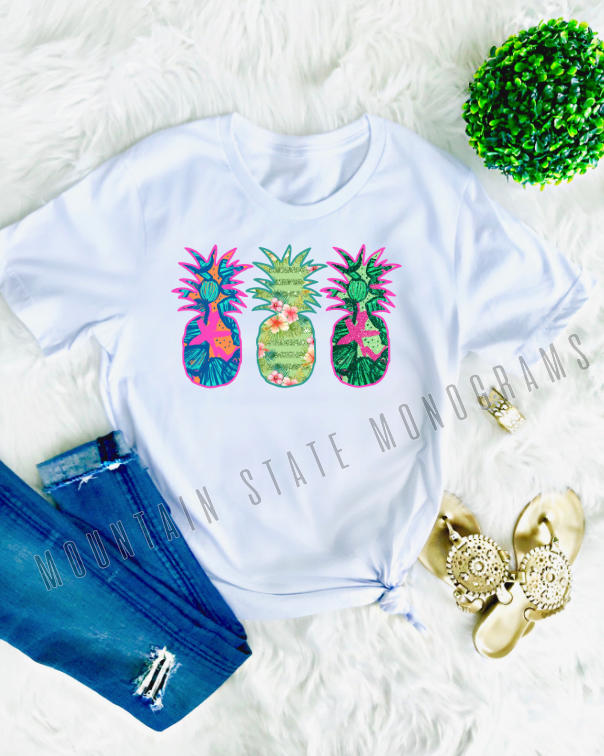 Preppy Pineapple Tee