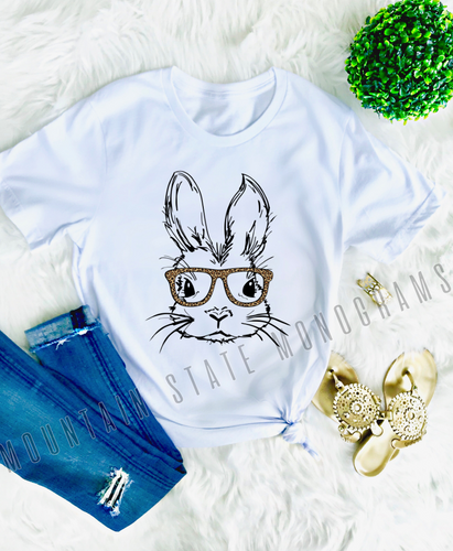 Hipster Bunny Tee