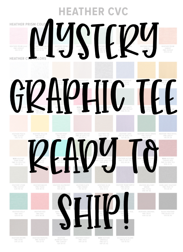Mystery Tees | Ready to Ship!