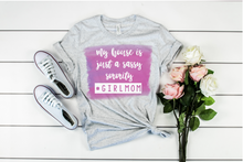 Load image into Gallery viewer, Sassy Sorority House Tee | Girl Mama