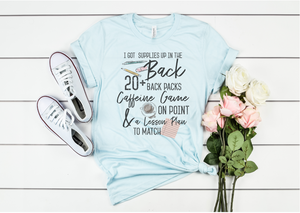 Old Town Road Inspired Teacher Tee