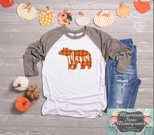 Load image into Gallery viewer, Mama Bear | Orange Gingham