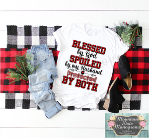 Protected By Both Tee | Buffalo Plaid