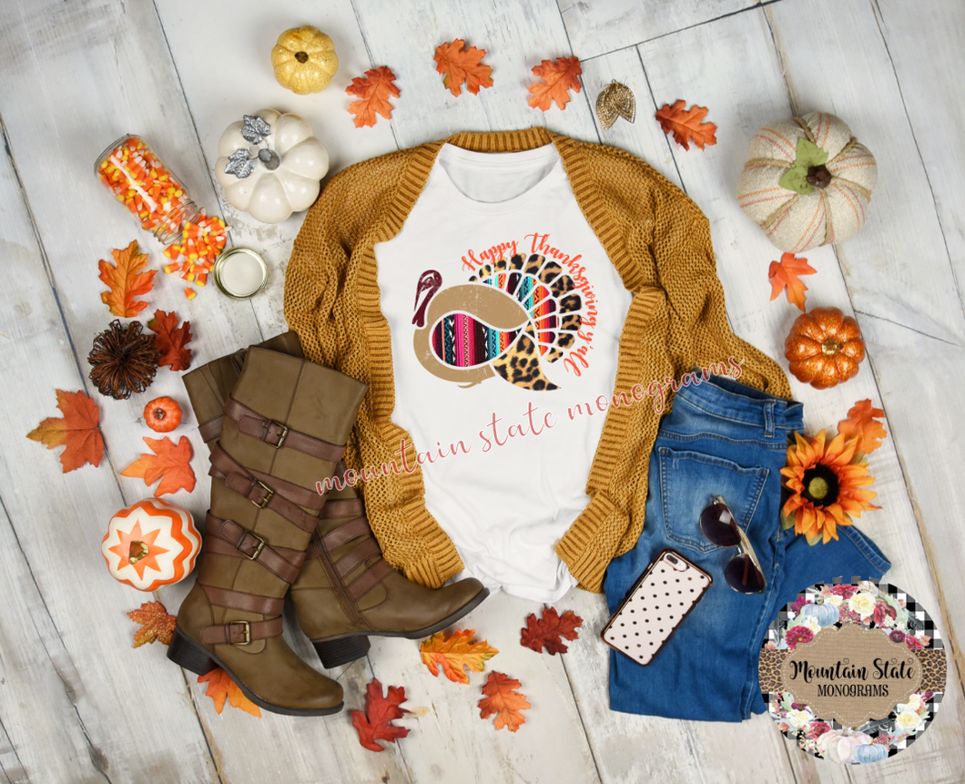 Happy Thanksgiving Y'all | Thanksgiving Tee