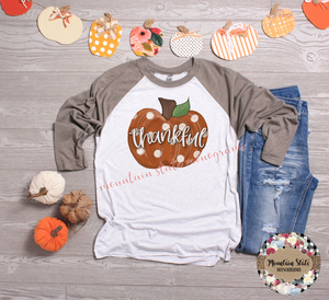 Thankful | Thanksgiving Tee