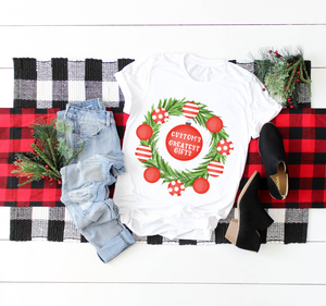Greatest Gifts | PERSONALIZED CHRISTMAS TEE