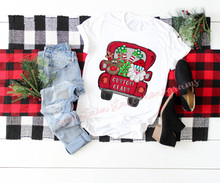 Load image into Gallery viewer, Custom Claus Christmas Truck | PERSONALIZED CHRISTMAS TEE