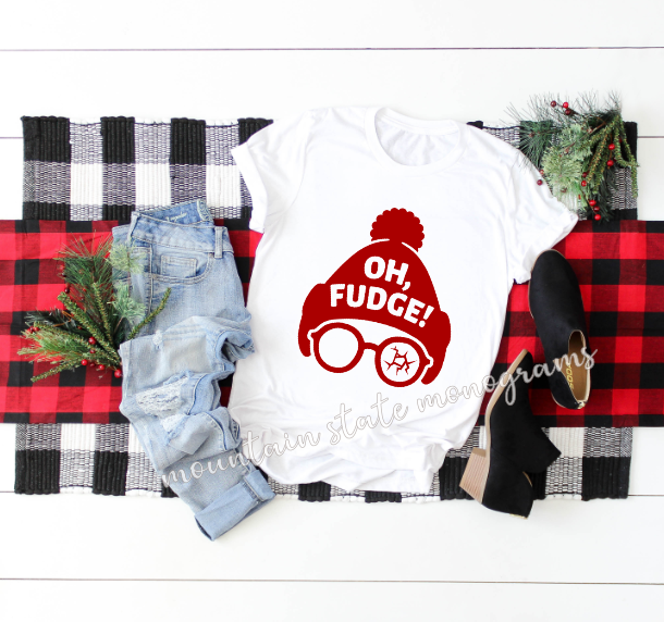 Oh Fudge | A Christmas Story Inspired Tee
