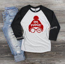 Load image into Gallery viewer, Oh Fudge | A Christmas Story Inspired Tee