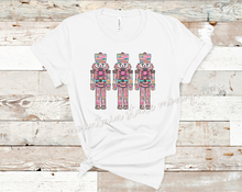 Load image into Gallery viewer, Watercolor Nutcracker | Christmas Tee