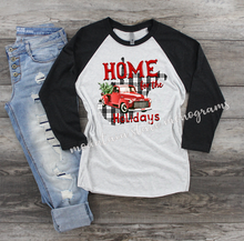 Load image into Gallery viewer, Home For The Holidays | West Virginia Christmas Tee | WV