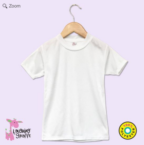 Little Match Easter Crewneck White Tee