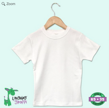 Load image into Gallery viewer, Little Match Easter Crewneck White Tee