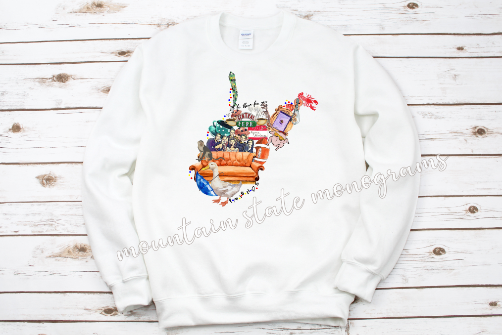 The One Where It's On A Sweatshirt | Friends Inspired WV/KY