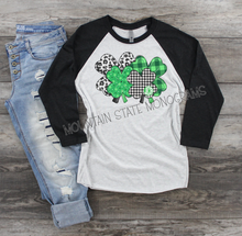 Load image into Gallery viewer, Lucky Me Monogram St. Patrick's Day Tee