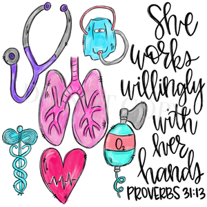Occupation Tee | Respiratory Therapist