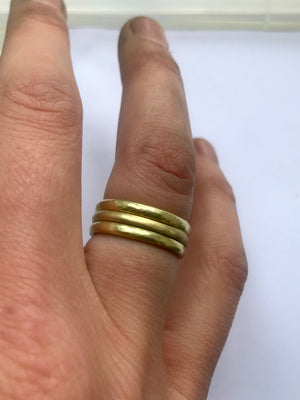 18ct Yellow Gold Stacking Rings