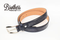 英國 J&E bridle leather belt 馬繮革皮帶