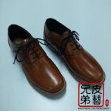 "全手染-腩條植鞣革 ""albalux"" vegetable tanned leather belly italy -yankee"