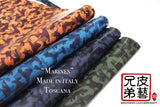 "細迷彩-腩條植鞣革 ""Marines"" vegetable tanned leather belly italy-mario"
