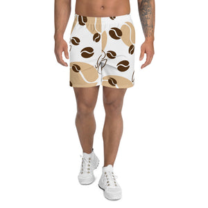 All Over Coffee Men's Athletic Long Shorts