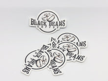 Load image into Gallery viewer, Black Beans Coffee Sticker