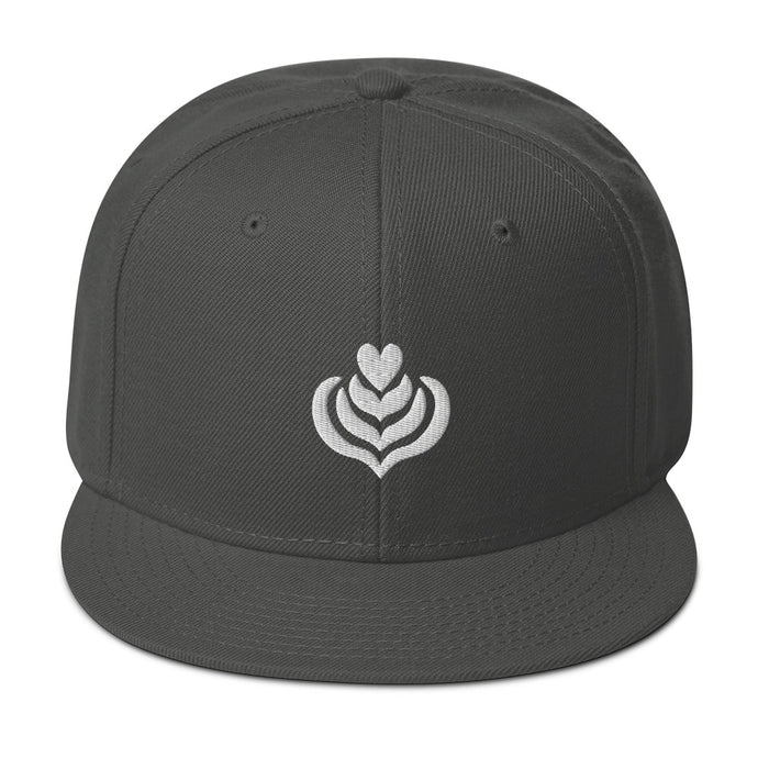 Latte Art Snapback Hat