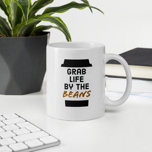 Mug - Grab Life by The Beans