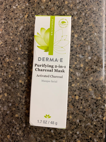 Derma E | Purifying 2-in-1 Charcoal Mask