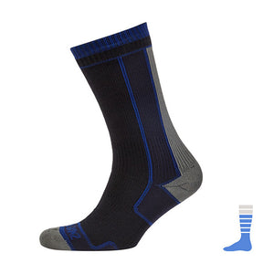 SealSkinz Unisex Waterproof Thin Mid Length Socks