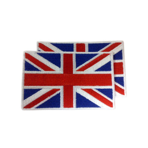 United Kingdom Patches (set of 8)