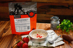 Expedition Foods Porridge with Strawberries (1000kcal)
