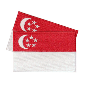 Singapore Patches (set of 8)