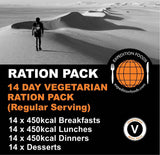 Expedition Foods 14 Day Vegetarian Ration Pack