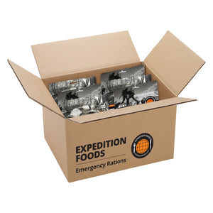 Expedition Foods Emergency Pack for 1 Month