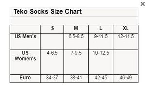 Teko Unisex Poly Light MiniCrew Socks