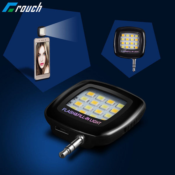 Mini LED Smartphone Flash Blitz einstellbar
