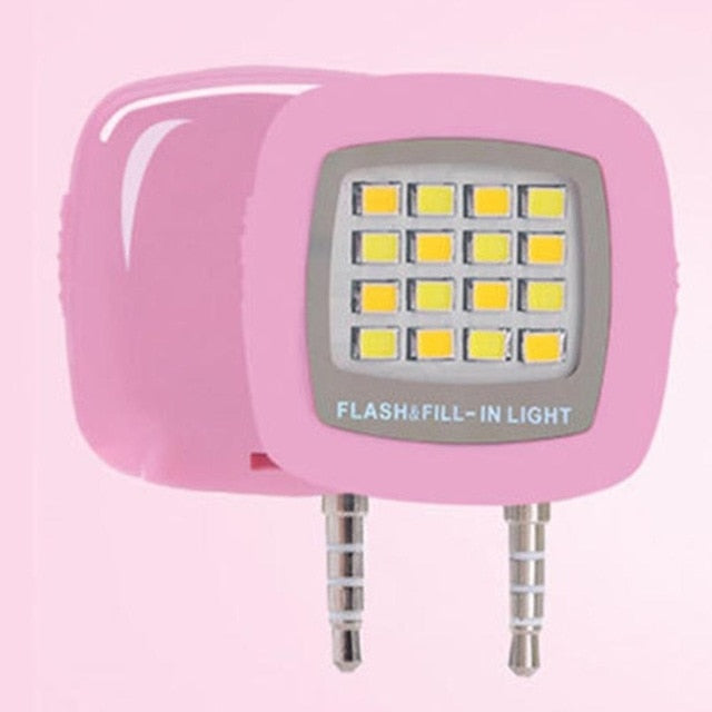 Mini LED Smartphoneblitz Automatik via Klinke