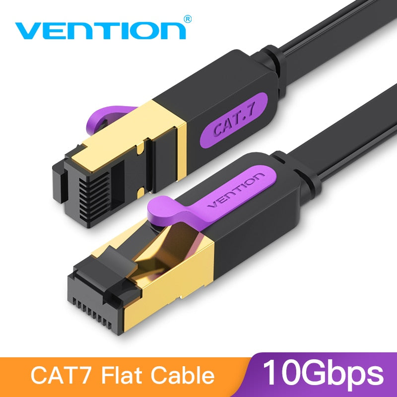 Cat7 LAN Ethernet Kabel für PC, Router und Laptop