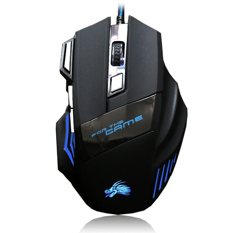 USB Gaming Maus 2500DPI mit LED